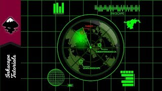 Inkscape Tutorial: Create a Military Radar Graphic for 2d Gaming(Episode #45) @ Ardent Designs