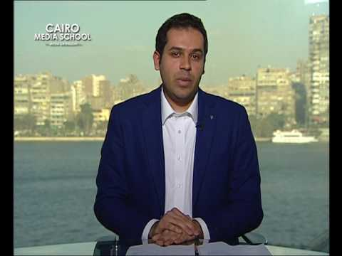 Ahmed Samir | News Presenting March Workshop