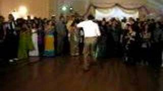 White guy at Indian wedding