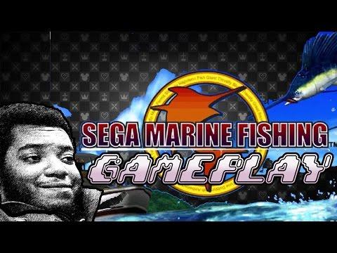 Sega Marine Fishing Gameplay