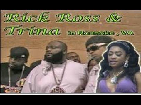 RICK ROSS & TRINA  in Ronoake VA.