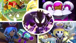 Kirby Star Allies - All Wave 3 DLC Character Origin & Moveset Trailers