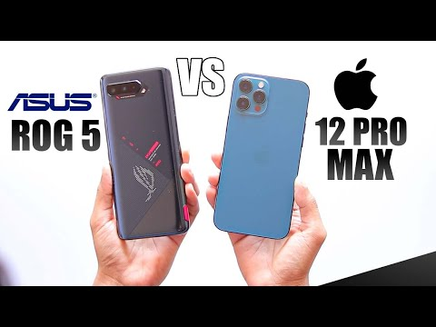 Asus ROG 5 vs iPhone 12 Pro Max - Best Gaming Phone ?
