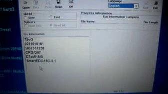 KWP2000 ohjelmointilaitteen käytön opastusta