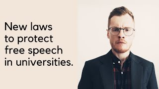 New laws to protect free speech in universities- The view from academia...