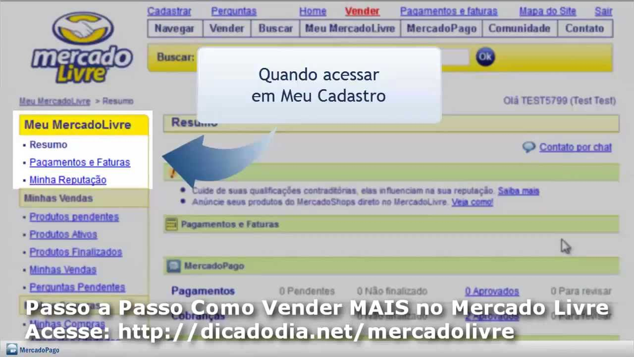 06240f48d6f4 Como Receber o Dinheiro Pela Venda no Mercado Livre - YouTube