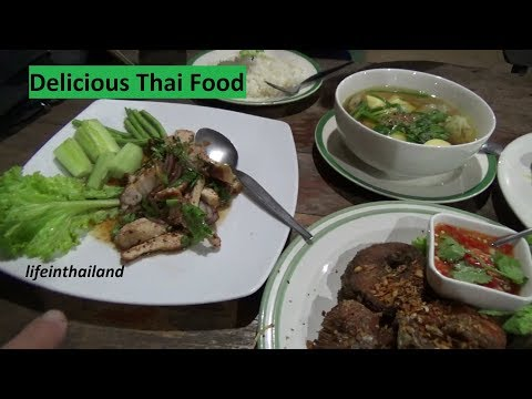 Best food in Thailand, Locals only rural Thailand restaurant, Delicious with awesome service.