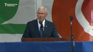 Pence Addresses Thousands Opposing Abortion At Rally
