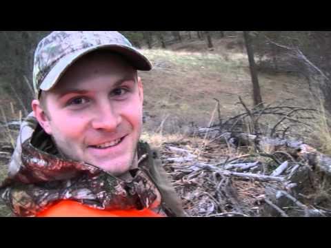 Blake's 1st buck - shot with a 270.