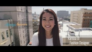 Karissa Oi - Becoming a Fashion Designer, Abercrombie & Fitch