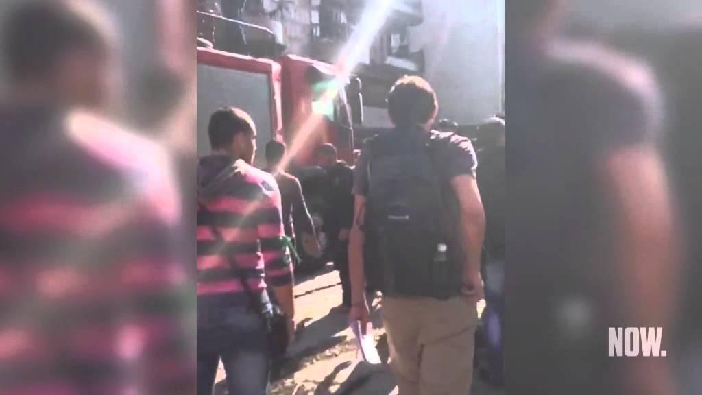 مشاهد أولية من موقع تفجير السفارة الإيرانية في بيروت - NOW