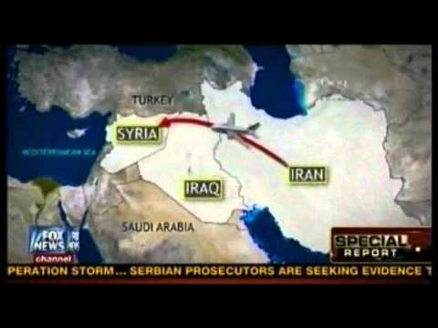11/26/12 Iran pouring arms and troops into Syria thru Iraqi airspace