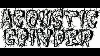 ACOUSTIC GRINDER -Catch the fishhook (Agathocles tribute)