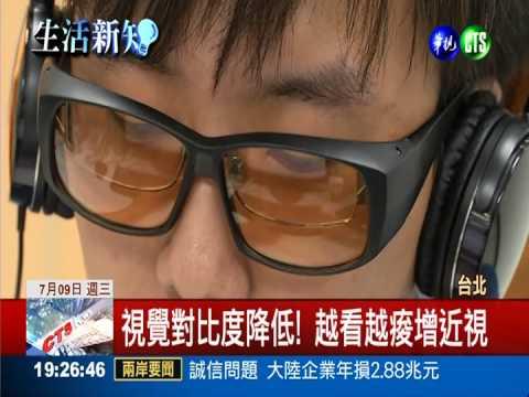 抗藍光眼鏡熱賣 當心越看越近視 - YouTube