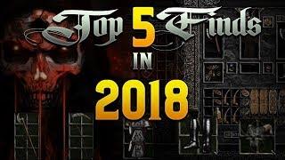 My 5 Best Diablo 2 drops - Second half of 2018 LIVE!!
