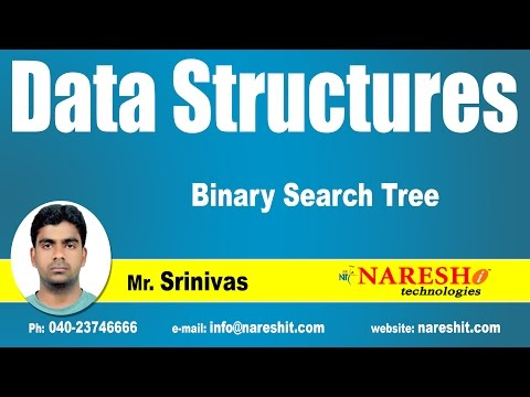 Binary Search Tree | Data Structures Tutorial