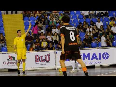 Copa SC   Blumenau Futsal 3x2 Luiz Alves