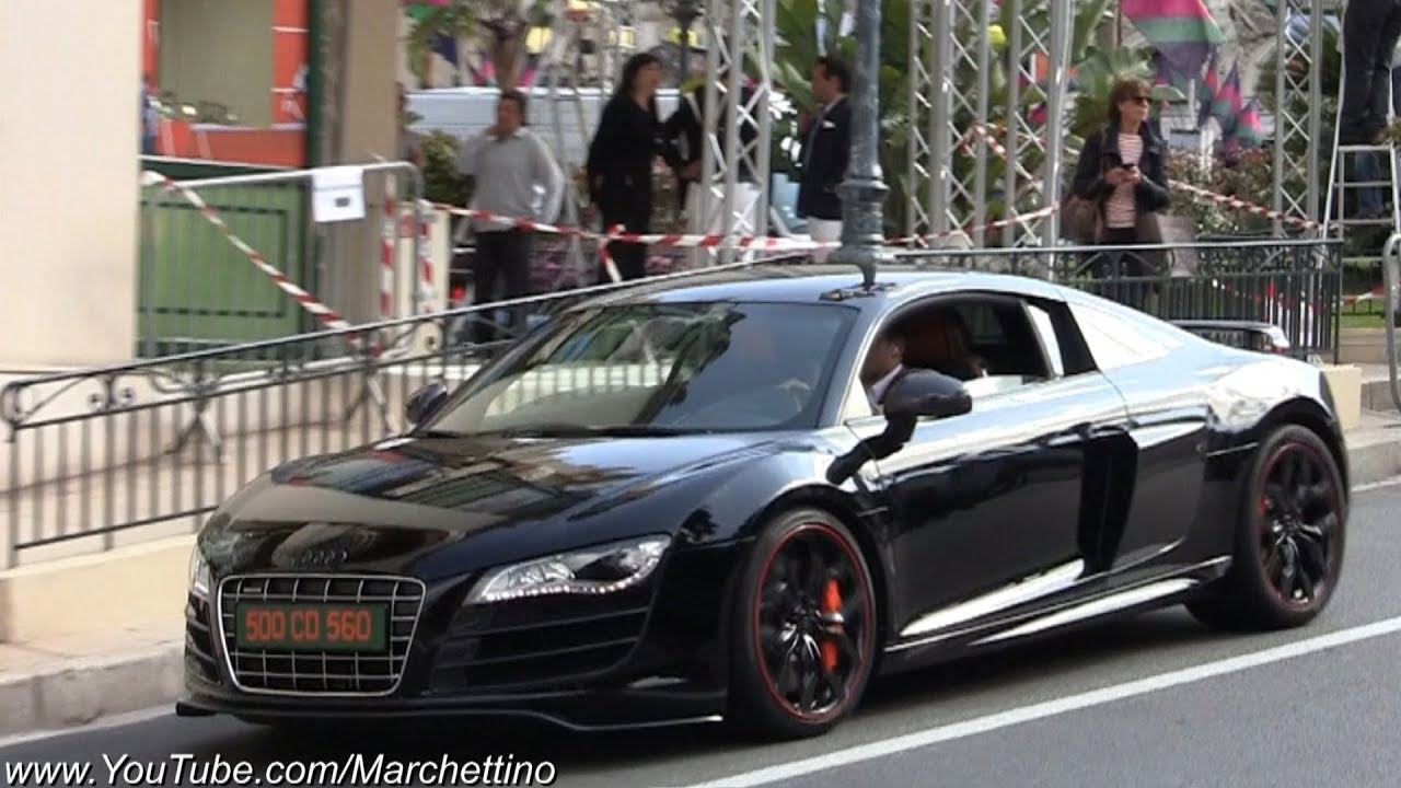 Modified Audi R8 V10 GT Style - YouTube