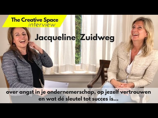 Jacqueline Zuidweg | The Creative Space interview 4