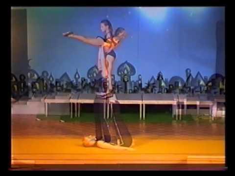 The Eight Rodos, acrobats / Akrobaten / акробаты | Doovi