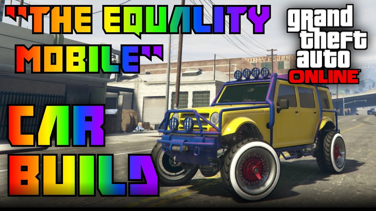 Gta Online Random Car Build The Equality Mobile Lgbt Build
