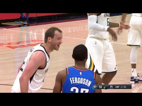 Utah Jazz vs Oklahoma City Thunder  - Game Highlights - 21 Oct. 2017