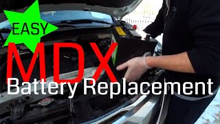 DIY: Replace your 2014, 2015, 2016 MDX Car Battery Yourself