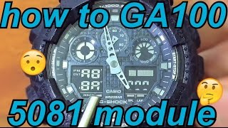How to set up your GA-100 | Module 5081 tutorial | time keeping, split/lapse time and more