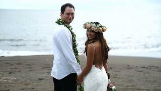 Waimea Plantation Cottages Wedding   Aimee and Dusty   Wedding Highlights