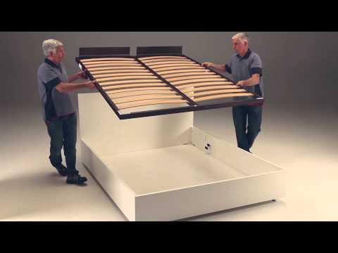 meccanismo di sollevamento per letti contenitori