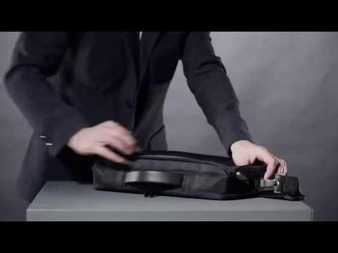 "Lenovo ThinkPad Professional Slim Topload Τσάντα Ώμου / Χειρός για Laptop 15.6"" σε Μαύρο χρώμα"