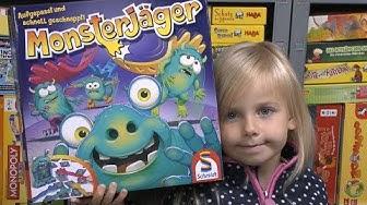 Monsterjäger (Schmidt Spiele) - ab 5 Jahre - Der Nachfolger von Monster Mix ist endlich da!