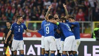 Highlights: Polonia-Italia 0-1 (14 ottobre 2018)