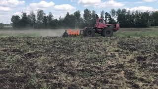Рихлення стерні пшениці 2018