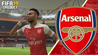FIFA 19 ARSENAL CAREER MODE - #1 SEASON ONE!!
