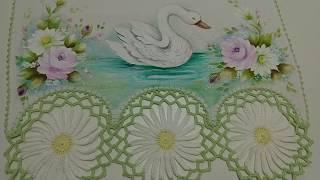Pintura em Tecido – Aprenda Pintar Cisne