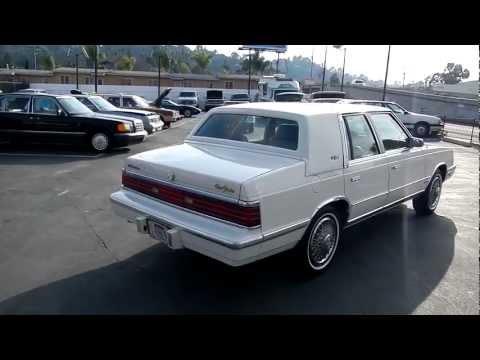 1 Owner Chrysler New Yorker Export No VAT Tax Netherlands 86 Build 95k Mi