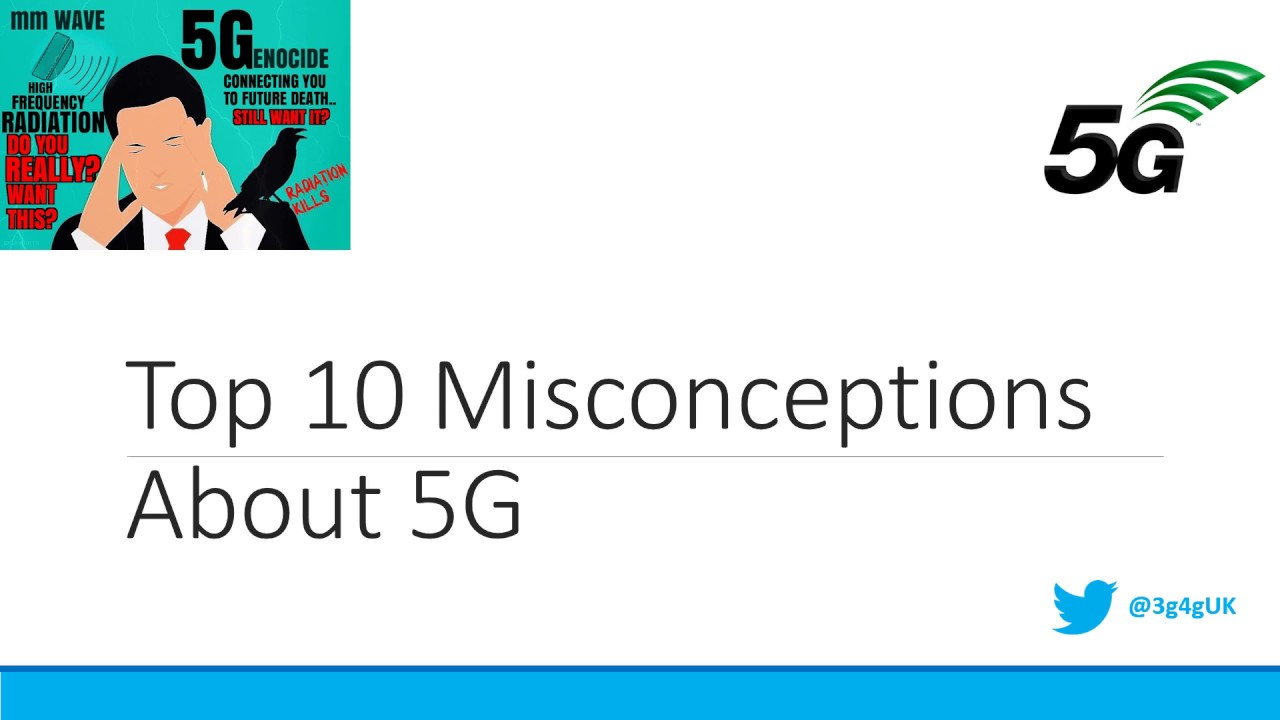 Beginners: Top 10 Misconceptions About 5G