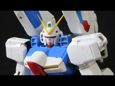 MG V-Dash Gundam (Part 1: Unbox) Victory Gundam Core Booster Gunpla Review