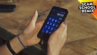 Calculator Trick Reveals Phone Number
