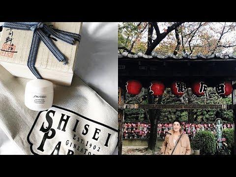 Tokyo part 1 : avec Shiseido