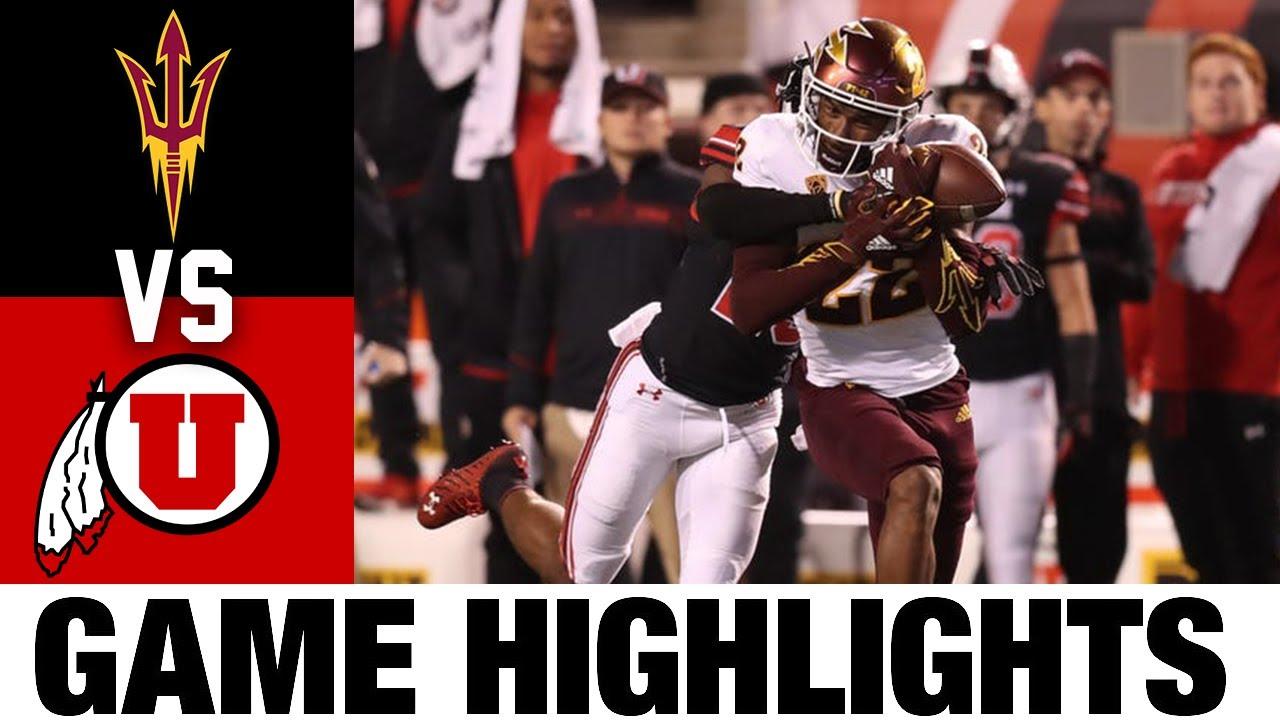 #18 Arizona State vs Utah   Week 7   2021 College Football
