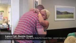 Military brother returns to Defiance, Ohio, to surprise graduating sister