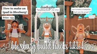 Aesthetic Roblox Bloxburg Hacks Part 3 Tiktok   Compilation   Kayxllaa