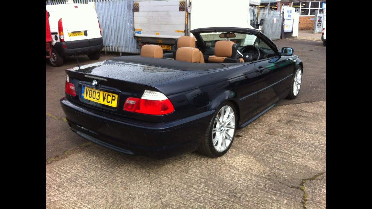 hight resolution of 2003 bmw 320i convertible m sport car review