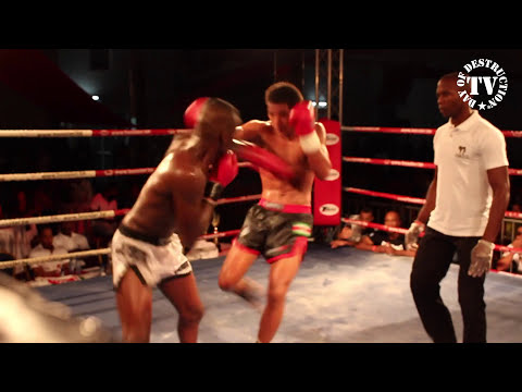 Donovan Wisse vs Ramon Niamat - Fighting with the Stars - Suriname