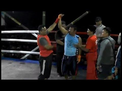 Pencak Dor Terbaru    Pak Ali Tentara Baku Hantam Di Ring Bambu  