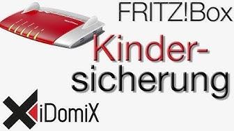 FRITZ!Box Kindersicherung, Filter, Webseiten sperren