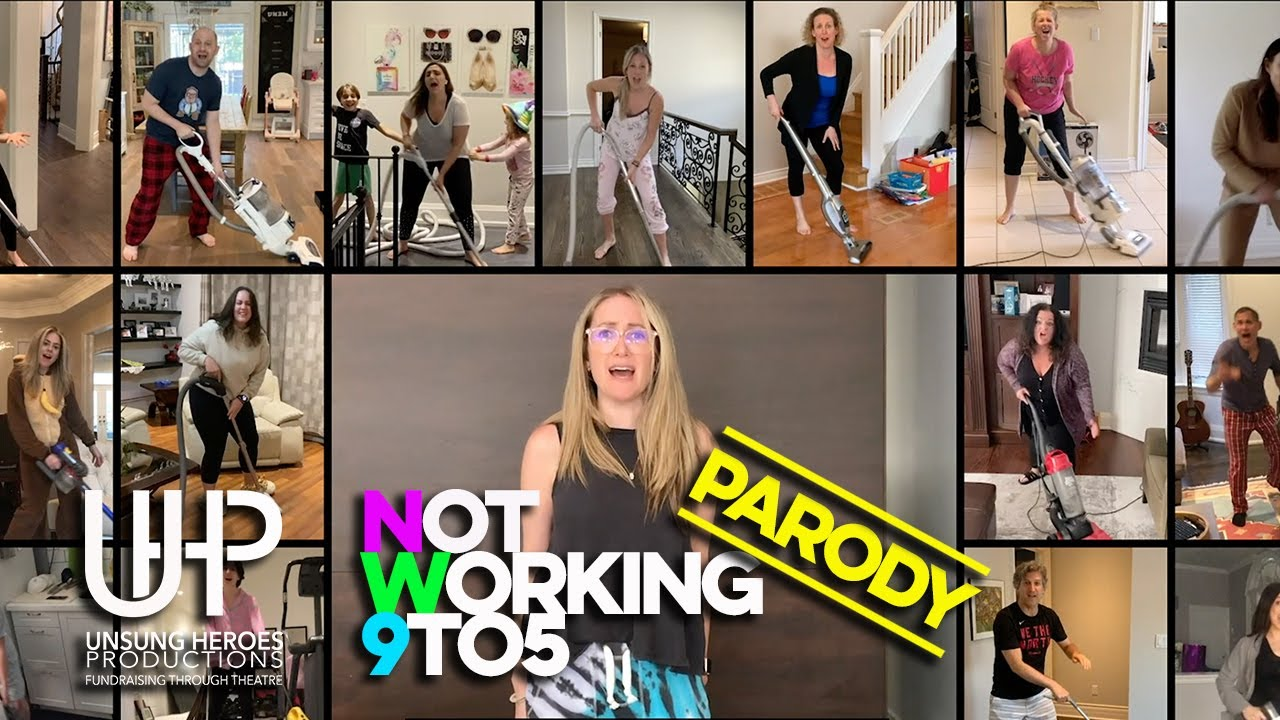 (Not) Working 9 to 5 - A Dolly Parton Covid Parody - Unsung Heroes Cast