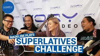 Madeline plays the Superlatives Challenge! (Ivory Live Sessions)